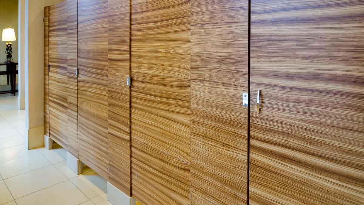 Wood Veneer Partitions Ironwood Mfg